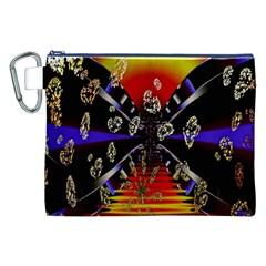Diamond Manufacture Canvas Cosmetic Bag (XXL)