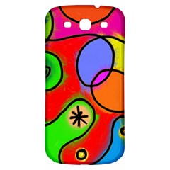 Digitally Painted Patchwork Shapes With Bold Colours Samsung Galaxy S3 S Iii Classic Hardshell Back Case