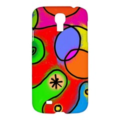 Digitally Painted Patchwork Shapes With Bold Colours Samsung Galaxy S4 I9500/I9505 Hardshell Case