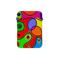 Digitally Painted Patchwork Shapes With Bold Colours Apple Ipad Mini Protective Soft Cases