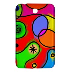 Digitally Painted Patchwork Shapes With Bold Colours Samsung Galaxy Tab 3 (7 ) P3200 Hardshell Case