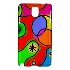 Digitally Painted Patchwork Shapes With Bold Colours Samsung Galaxy Note 3 N9005 Hardshell Case