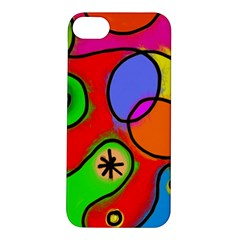 Digitally Painted Patchwork Shapes With Bold Colours Apple Iphone 5s/ Se Hardshell Case