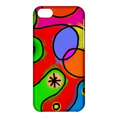 Digitally Painted Patchwork Shapes With Bold Colours Apple iPhone 5C Hardshell Case