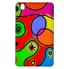 Digitally Painted Patchwork Shapes With Bold Colours Samsung Galaxy Tab Pro 8 4 Hardshell Case