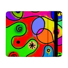 Digitally Painted Patchwork Shapes With Bold Colours Samsung Galaxy Tab Pro 8 4  Flip Case
