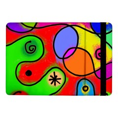 Digitally Painted Patchwork Shapes With Bold Colours Samsung Galaxy Tab Pro 10.1  Flip Case