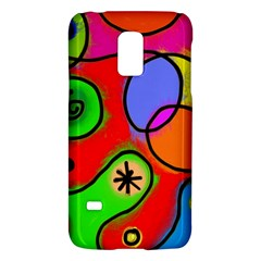 Digitally Painted Patchwork Shapes With Bold Colours Galaxy S5 Mini