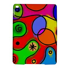 Digitally Painted Patchwork Shapes With Bold Colours Ipad Air 2 Hardshell Cases