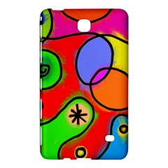 Digitally Painted Patchwork Shapes With Bold Colours Samsung Galaxy Tab 4 (8 ) Hardshell Case