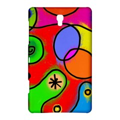 Digitally Painted Patchwork Shapes With Bold Colours Samsung Galaxy Tab S (8 4 ) Hardshell Case