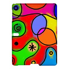 Digitally Painted Patchwork Shapes With Bold Colours Samsung Galaxy Tab S (10 5 ) Hardshell Case