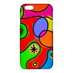 Digitally Painted Patchwork Shapes With Bold Colours iPhone 6/6S TPU Case