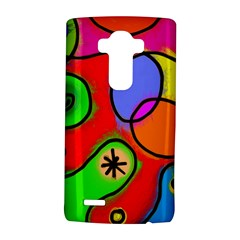 Digitally Painted Patchwork Shapes With Bold Colours Lg G4 Hardshell Case
