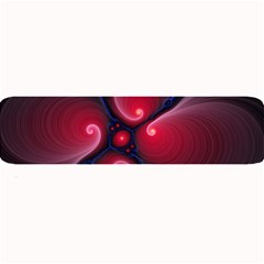 Color Fractal Pattern Large Bar Mats
