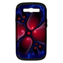 Color Fractal Pattern Samsung Galaxy S Iii Hardshell Case (pc+silicone)