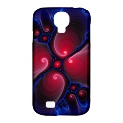 Color Fractal Pattern Samsung Galaxy S4 Classic Hardshell Case (PC+Silicone)