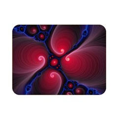 Color Fractal Pattern Double Sided Flano Blanket (mini)