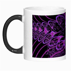 Beautiful Pink Lovely Image In Pink On Black Morph Mugs