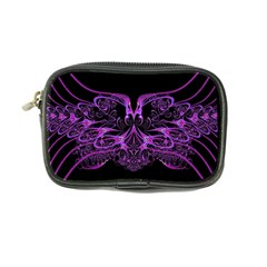 Beautiful Pink Lovely Image In Pink On Black Coin Purse