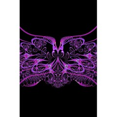 Beautiful Pink Lovely Image In Pink On Black 5 5  X 8 5  Notebooks