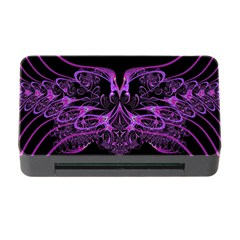 Beautiful Pink Lovely Image In Pink On Black Memory Card Reader with CF