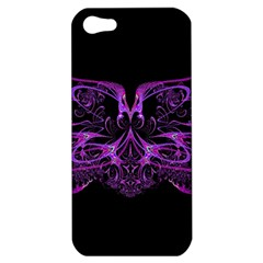 Beautiful Pink Lovely Image In Pink On Black Apple iPhone 5 Hardshell Case