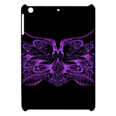 Beautiful Pink Lovely Image In Pink On Black Apple Ipad Mini Hardshell Case