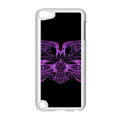 Beautiful Pink Lovely Image In Pink On Black Apple iPod Touch 5 Case (White)