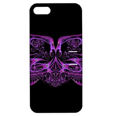 Beautiful Pink Lovely Image In Pink On Black Apple Iphone 5 Hardshell Case With Stand