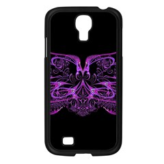 Beautiful Pink Lovely Image In Pink On Black Samsung Galaxy S4 I9500/ I9505 Case (black)