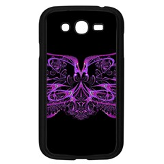 Beautiful Pink Lovely Image In Pink On Black Samsung Galaxy Grand DUOS I9082 Case (Black)