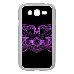 Beautiful Pink Lovely Image In Pink On Black Samsung Galaxy Grand Duos I9082 Case (white)