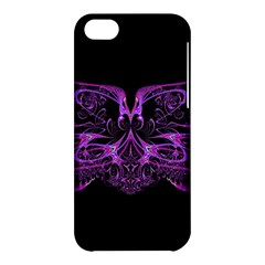 Beautiful Pink Lovely Image In Pink On Black Apple Iphone 5c Hardshell Case