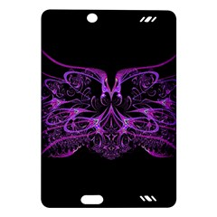 Beautiful Pink Lovely Image In Pink On Black Amazon Kindle Fire HD (2013) Hardshell Case