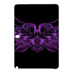 Beautiful Pink Lovely Image In Pink On Black Samsung Galaxy Tab Pro 12 2 Hardshell Case