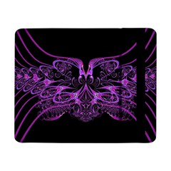Beautiful Pink Lovely Image In Pink On Black Samsung Galaxy Tab Pro 8.4  Flip Case