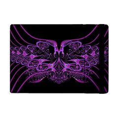 Beautiful Pink Lovely Image In Pink On Black Ipad Mini 2 Flip Cases