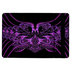 Beautiful Pink Lovely Image In Pink On Black Ipad Air Flip