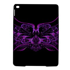 Beautiful Pink Lovely Image In Pink On Black iPad Air 2 Hardshell Cases