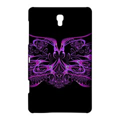 Beautiful Pink Lovely Image In Pink On Black Samsung Galaxy Tab S (8 4 ) Hardshell Case