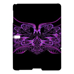 Beautiful Pink Lovely Image In Pink On Black Samsung Galaxy Tab S (10 5 ) Hardshell Case