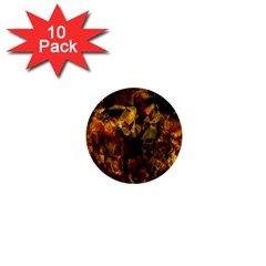 Autumn Colors In An Abstract Seamless Background 1  Mini Buttons (10 Pack)