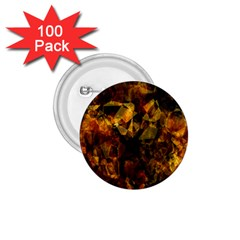 Autumn Colors In An Abstract Seamless Background 1 75  Buttons (100 Pack)
