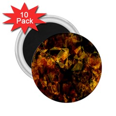 Autumn Colors In An Abstract Seamless Background 2 25  Magnets (10 Pack)