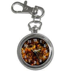 Autumn Colors In An Abstract Seamless Background Key Chain Watches
