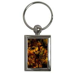 Autumn Colors In An Abstract Seamless Background Key Chains (rectangle)