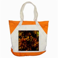 Autumn Colors In An Abstract Seamless Background Accent Tote Bag