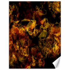 Autumn Colors In An Abstract Seamless Background Canvas 18  X 24