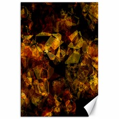 Autumn Colors In An Abstract Seamless Background Canvas 20  x 30